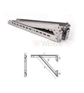 Кронштейн 1000 сталь AISI 304